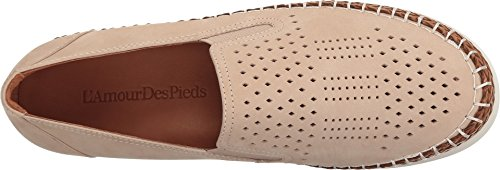 Love Feet Womens Stazzema Slip-on Beige Nabuk