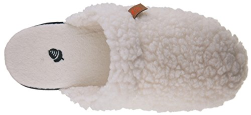 Ekollon Kvinna Scuff Mule Buff Popcorn / Grå