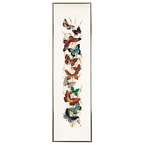 Eva Rosenstand Butterflies Bell Pull Counted Cross-Stitch Kit