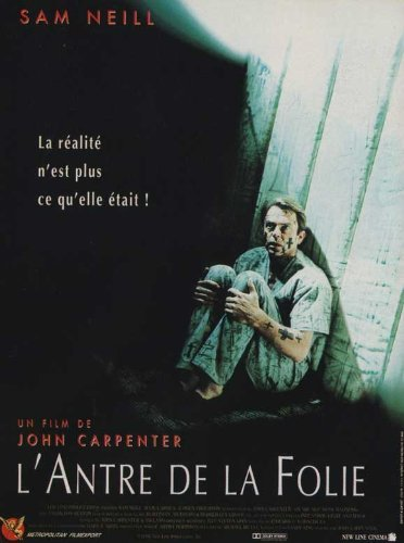 In The Mouth of Madness Poster Movie 1994 French Style A