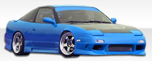 1989-1994 Nissan 240sx 2DR Duraflex GP-1 Kit- Includes GP-1 Front Bumper (100862), GP-1 Rear Bumper (100850), and GP-1 Sideskirts (100861). - Duraflex Body Kits - Gp1 Front Bumper
