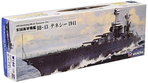Pit-road 1/700 USS battleship BB-43 Tennessee 1941 W180