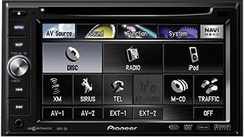 Pioneer AVIC-D3 In-Dash sistema de navegación GPS con reproductor de DVD