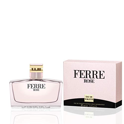 Ferre Rose by Gianfranco Ferre For Women. Eau De Toilette Spray 3.4-Ounces