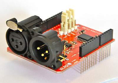 FidgetGear 2.5kV Isolated DMX 512 Shield for Arduino (RDM Capable) - R2 from FidgetGear