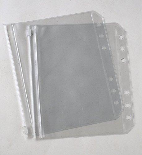 Knitpro Funda de Plástico para Archivadores en Tres Tamaños. Tamaño Bolsas 125mmx55mm (10707)