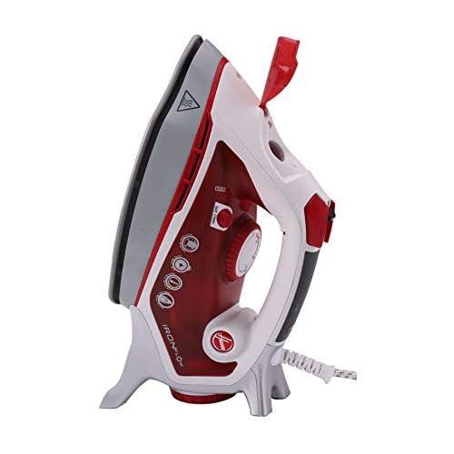 chollos oferta descuentos barato Hoover Tif2800 011 IRONFLOW TIF 2800 Tecnología Airflow de ventilación integrada Potencia Sistema Antigoteo Autolimpieza 2800 W 0 4 litros Rojo race transparente
