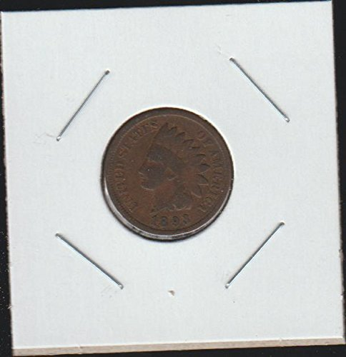 1893 Indian Head (1859-1909) Penny Choice Fine Details