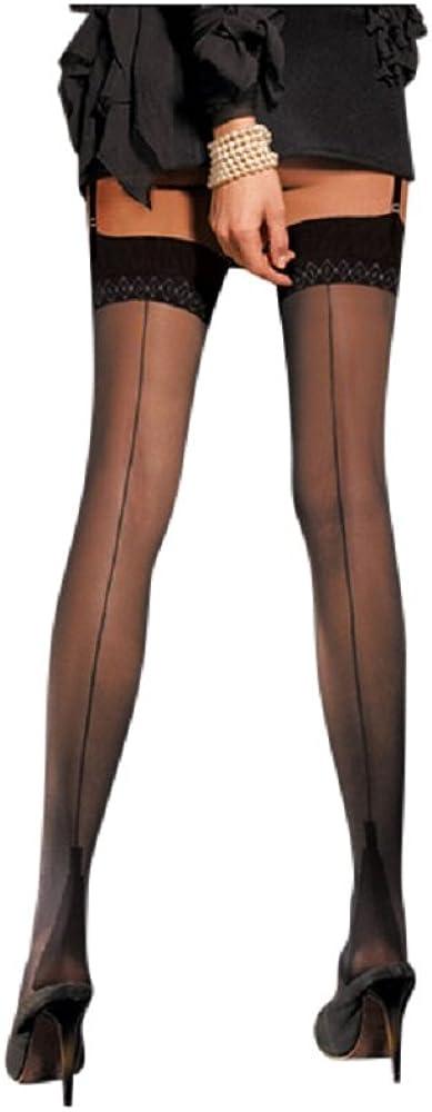 1940s Stockings, Nylons, Knee Highs, Tights, Pantyhose Pennac 20 Den Back Seamed Stockings [Garter belt not included] $17.23 AT vintagedancer.com