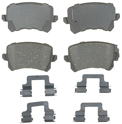 ACDelco 17D1348CH Professional Ceramic Rear Disc Brake Pad Set