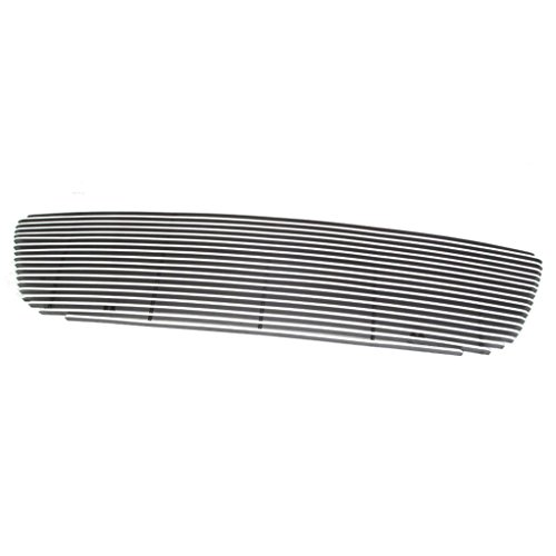 E-Autogrilles Aluminum Polished 4mm Horizontal Cutout Billet Grille for 99-03 Ford F-150 (1PC) - Billet Grille F150 03 Ford