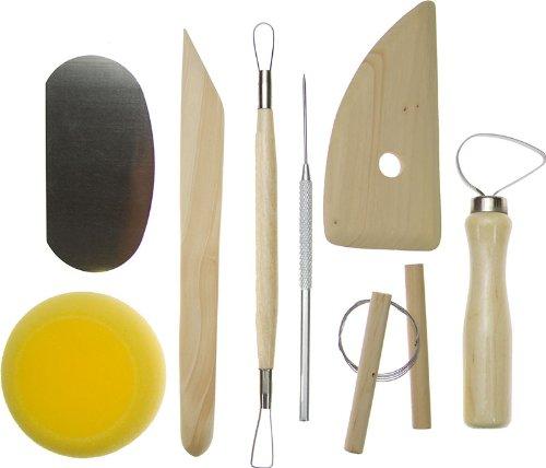 SE 4PT8 8-Piece Pottery Tool, Outdoor Stuffs