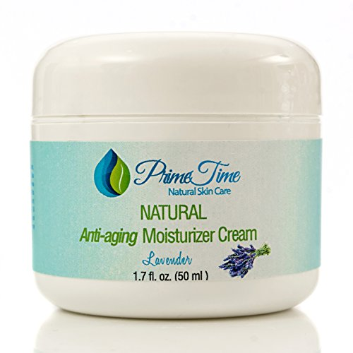 PrimeTime The BEST All-Natural Advanced Anti-Aging moisturizer Face Cream |Pure Hyaluronic Acid Rich with Avocado | Lavender Essential Oil | Vitamin E. Anti Aging Formula Reduces Wrinkles, Fine (Maximum Replenish Night Cream)