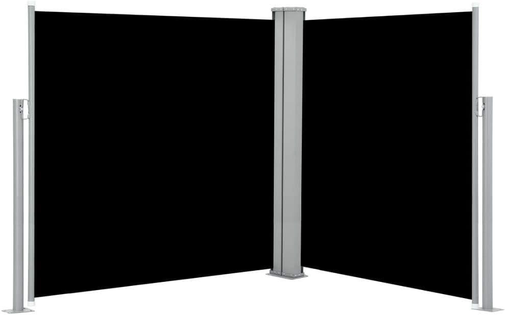 100x600cm, Crema UnfadeMemory Toldo Lateral Doble y Retr/áctil para Terraza Patio o Balc/ón Restaurantes,Protecci/ón de la Privacidad,Protecci/ón Solar