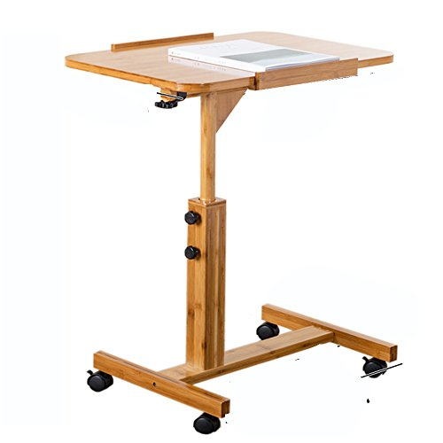 Painted Table Rattan (Workspace Organizer Removable Bedside Table, Simple Folding Computer Desk, Laptop Table, (Size : 70cm))