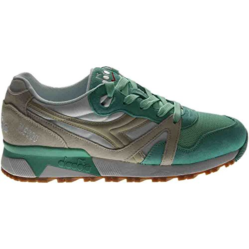 Diadora N9000 Men Round Toe Synthetic Blue Sneakers Ice Green/Beige Birch 100% authentic online sale recommend largest supplier cheap sale 2015 new for cheap Pb45Ar