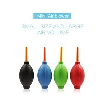 clkj 1pieza silicona Mini Air soplador de polvo limpiador para ...