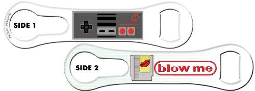 V-ROD™ Bone Bottle Opener and Pour Spout Remover: Blow Me