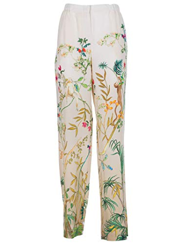 Femme Blanc Alberta Pantalon Coton Ferretti A030416411003 tqrA405r