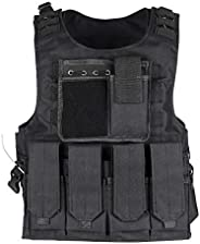 ThreeH Tactical Vests Military Training Hunting Gaming Vest Paintball Equipment for Adults Army Fans