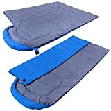 SF- World Adult Waterproof Camping Hiking Single Sleeping Bag With Carry Bag