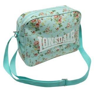 Lonsdale Floral Flight Bag Ladies Sky -  Amazon.co.uk  Clothing 6c2ded44e5efd