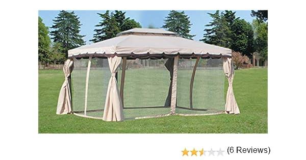 HOMEGARDEN Repuesto 4 Toallas Laterales moschiera Carpa Adventure 300 x 400: Amazon.es: Hogar