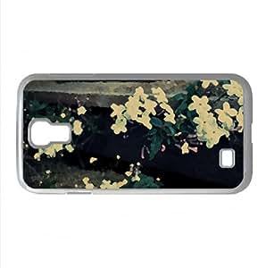 Petals Watercolor style Cover Samsung Galaxy S4 I9500 Case (Flowers Watercolor style Cover Samsung Galaxy S4 I9500 Case)
