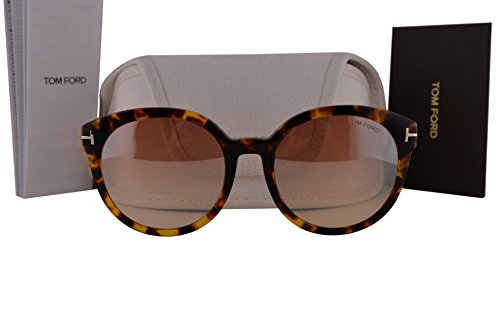 Tom Ford FT0503 Philippa Sunglasses Havana w/Light Brown Gradient Lens 52Z TF503 by Tom Ford
