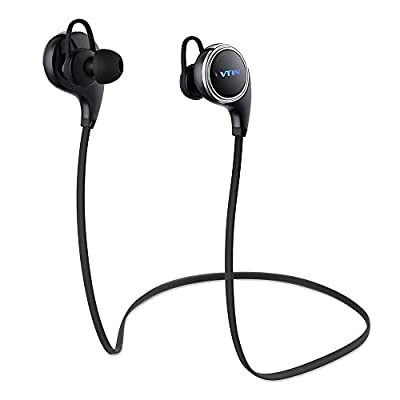 Bluetooth Headphones, QY8 Pro [Upgraded QY8] Vtin Swan Bluetooth 4.1 Sports Headphones Built-in Mic for Running/Gym/Exercise, Compatible with iPhone 6s 6s Plus Galaxy S6 S5 and Android Phones