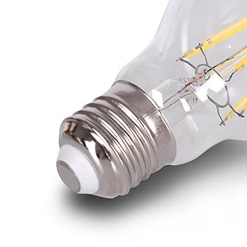 DC 12V Light Bulb A19 A60 6000k 4W Cool Super White LED Edison E26 Medium Base Lamp DC Low Voltage RV Marine Boat Classic Industrial Classic Loft Landscape Industrial Lighting 12 Volt Battery Lighting by 12Vmonster (Image #3)