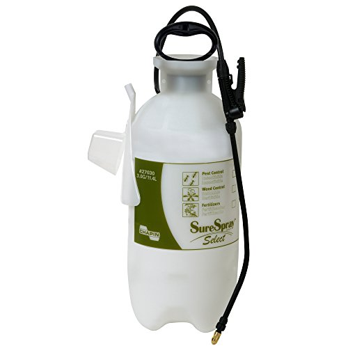 Hand Sprayer (Chapin 27030 3-Gallon SureSpray Select Sprayer For Fertilizer, Herbicides and Pesticides, 3-Gallon (1 Sprayer/Package))
