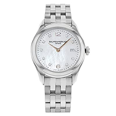 Baume & Mercier Clifton quartz female Watch MOA10176 (Certified Pre-owned) by Baume & Mercier