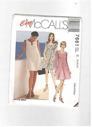 McCall's 7661 (Size 10, 12, 14)Misses' dress