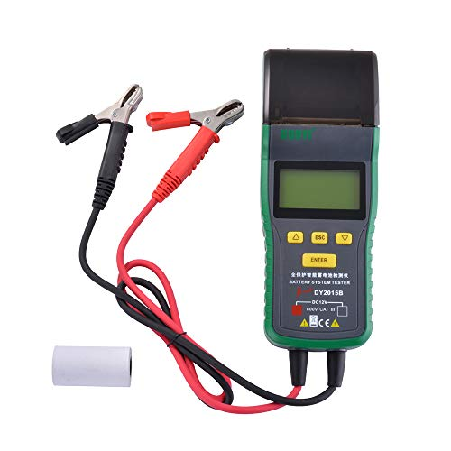 XCSOURCE DY2015B Automotive Battery Tester Battery Analyzer Tool Thermal Printer MA1904 by XCSOURCE (Image #6)