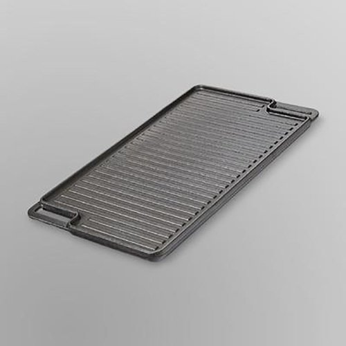Essential Home Cast-Iron Reversible Grill and Griddle Pan