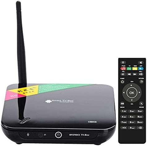 CS968 1080P de alta definición Android 4.2.2 Smart TV Box con mando a distancia, CPU: rk3188-t Quad-Core, 2 GB de RAM + 8 GB ROM, XBMC, Integrado, Soporte WiFi + RJ45 +