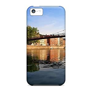 linJUN FENGFashion XmPMUBz1445WymlG Case Cover For ipod touch 5(wonderful Footbridge Over A River)