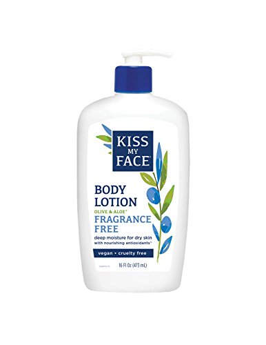 (Kiss My Face Sensitive Skin Natural Moisturizer with Olive Oil & Aloe Vera 16 oz)