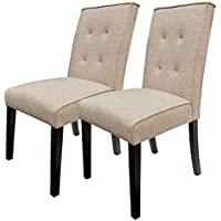 BestValue Go Tall Tufted Dining Chair Set of 2