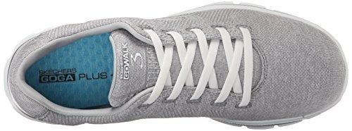 Walk Skechers Performance Shoe Walking Stretch Go Gray 3 Womens 1npqBt
