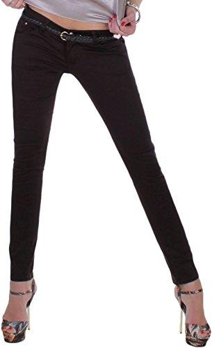 Black Denim - Pantalón deportivo - Ajustada - para mujer marrón