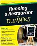 img - for Michael Garvey: Running a Restaurant for Dummies (Paperback); 2011 Edition book / textbook / text book