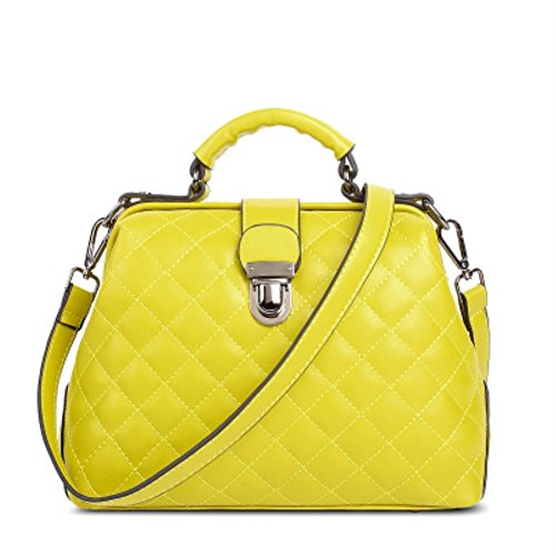 Hifish Hb125165c7 Pu Leather Korean Style Women's Handbag Square Cross-section Doctors Bag