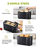 IKICH Toaster 2 Long Slot, Toaster 4 Slice