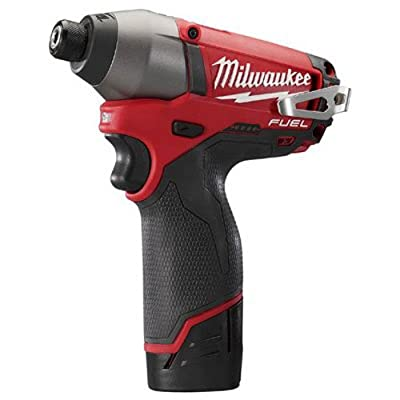 Milwaukee 2453-22 M12 Fuel 1/4 Hex Impact Driver Kit W/2 Bat
