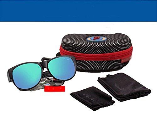 Miroir lunettes CHshop professionnel soleil de de Bleu nFnwqxRCT