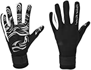 Diving Gloves Neoprene, Anti Slip Flexible Wetsuits Five Finger Gloves for Snorkeling Swimming Surfing Sailing