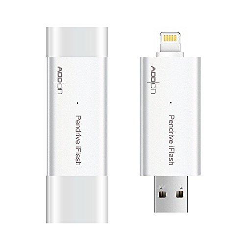 [Apple MFI Certified] Addon Pen Drive iFlash USB 3.0 Inte...