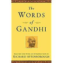 The Words of Gandhi (Newmarket Words Of Series)